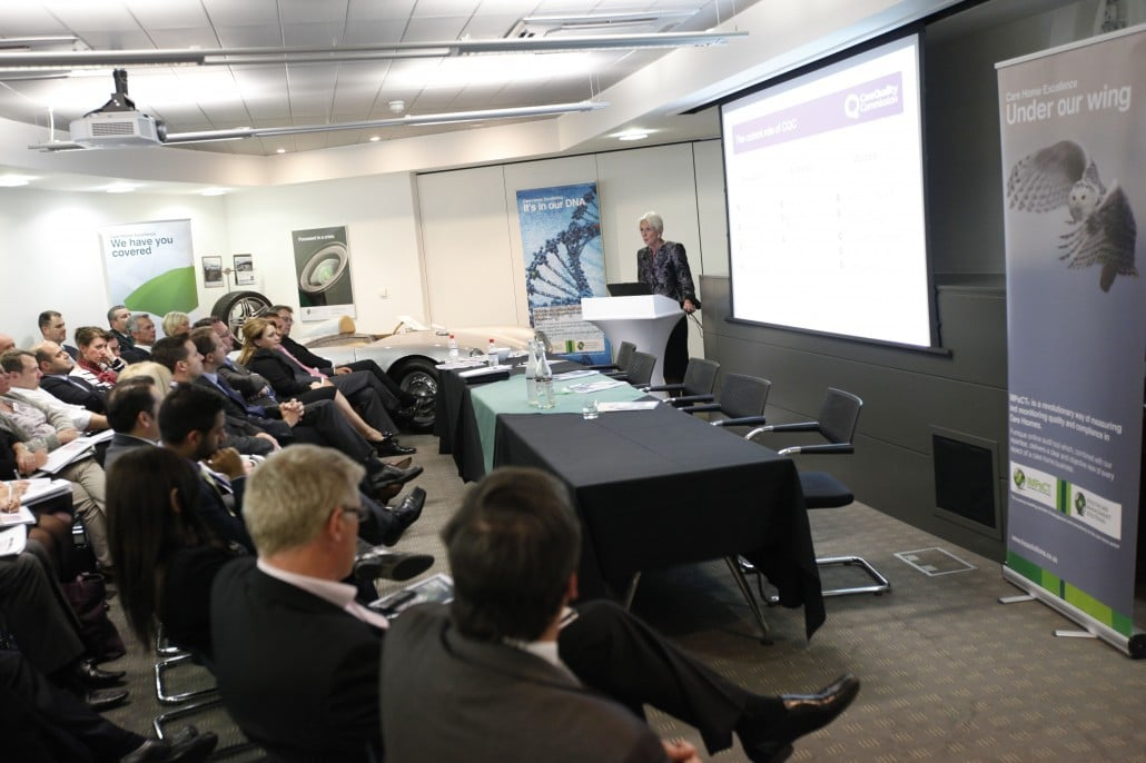 Seminar 2012 - Driving Care Home Excellence