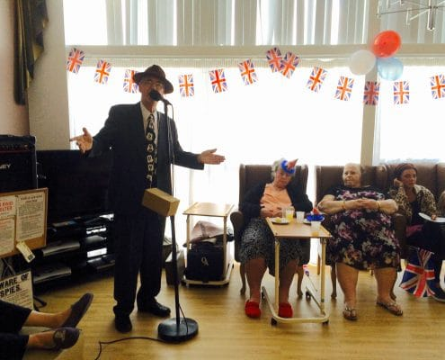 Essex care home holds special celebration to mark VE Day