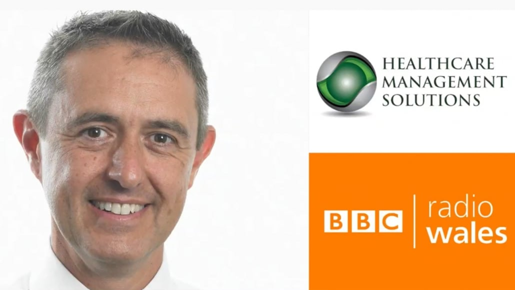 Healthcare Management Solutions CEO Tony Stein talks to BBC Radio Wales about the rollout of the Covid-19 vaccine to care homes in Wales.